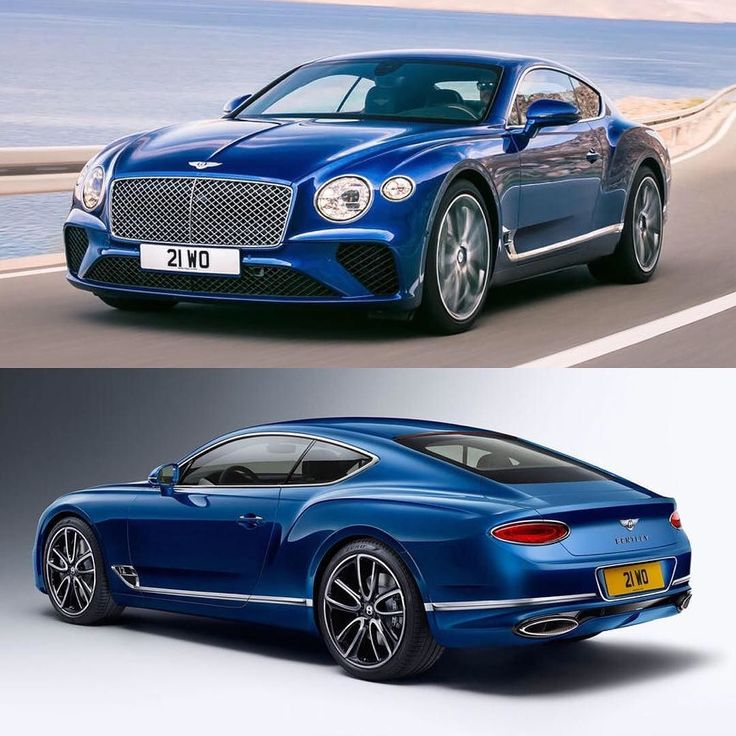 Check out the all new Bentley Continental GT. Under the bonnet is a heavily revised version of Bentleys 6.0-litre twin-turbocharged W12 petrol engine which delivers 626bhp  #Bentley #ContinentalGT #2018Continental