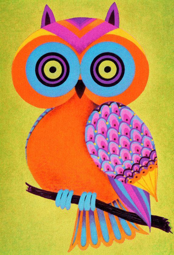 orange owl (illustrator unknown)