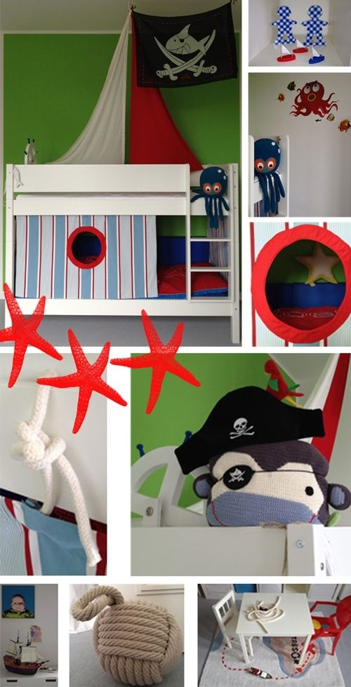 mommo design: PIRATE ROOM