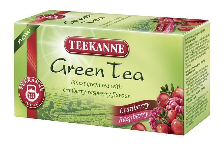 Green Tea Cranberry-Raspberry