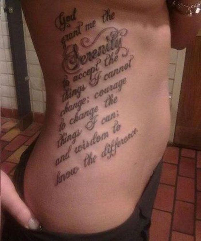 Tattoo Quotes Down Side Body: Rib Tattoos For Women - Google Search