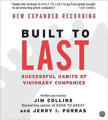 Built to Last: Successful Habits of Visionary Companies by Jim Collins Audio CDs
