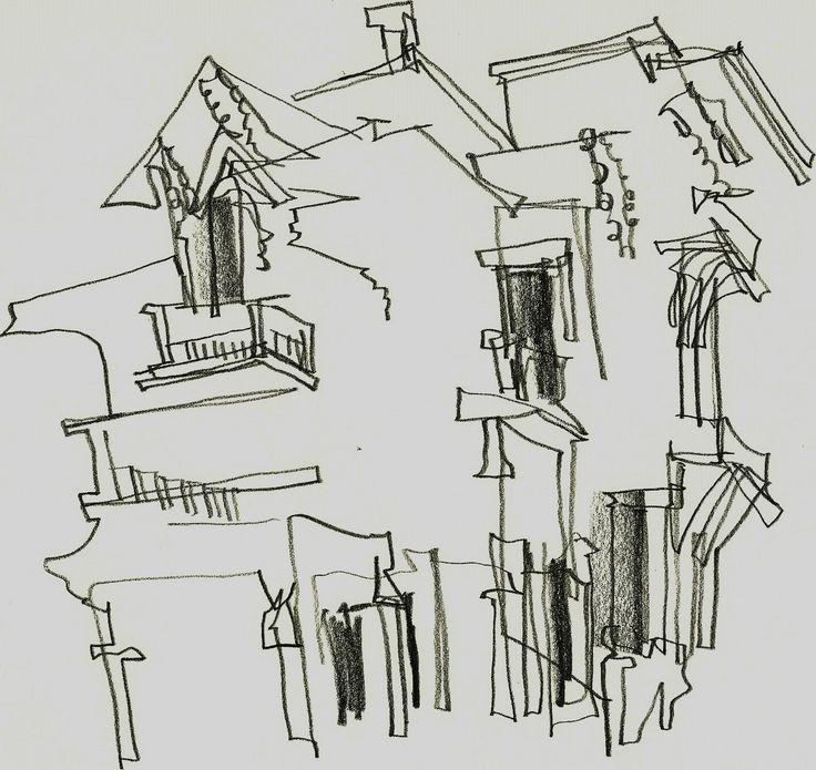 Contour Line Landscape Drawing : Images about blind contour basic lines on