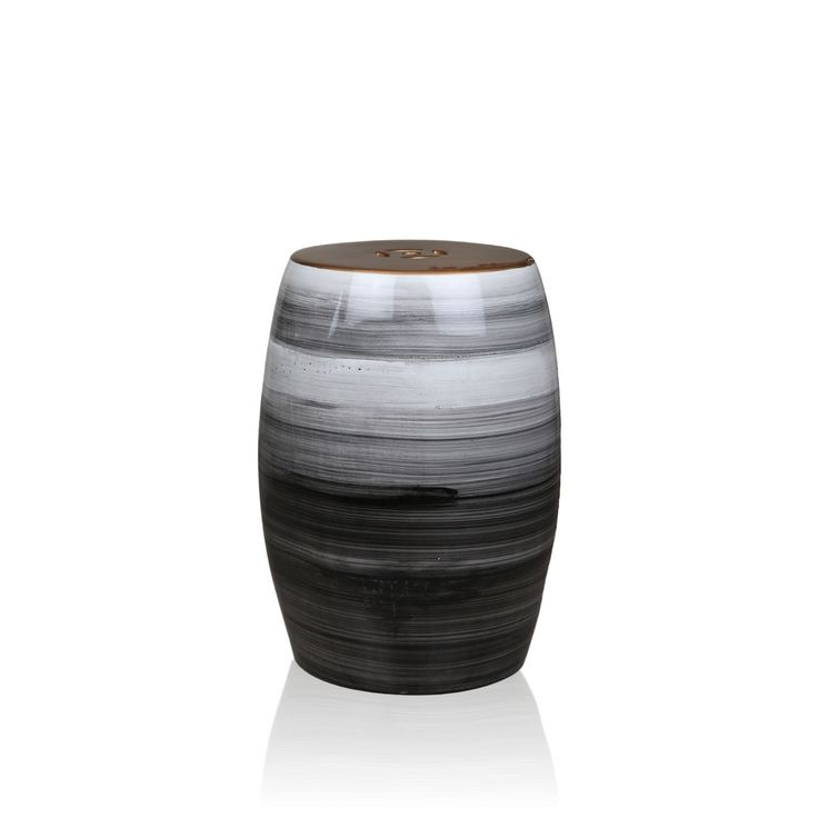 Handpainted Stool Nordic Snow - A stunning piece of decor to add fusion to any contemporary decor theme. This simple yet stylish Nordiac snow stool with detailed glossy hand painting is designed to be a focal point of your living room.This glossy leather console is high on durability and class apart on style quotient.#INVHome #LuxuryHomeDecor #InteriorDesign #RoomDecor #Decorations #Decor #INVHomeLinen #Tableware #Spa #Gifts #Furniture #LuxuryHomes #Furniture #Stools