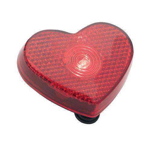 Lampe sécurité clignotante avec votre marquage pour un cadeau publicitaire plein de sympathie !