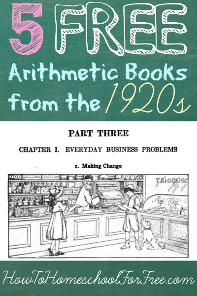 Download Five Completely Free Practical Math Books From The 1920s