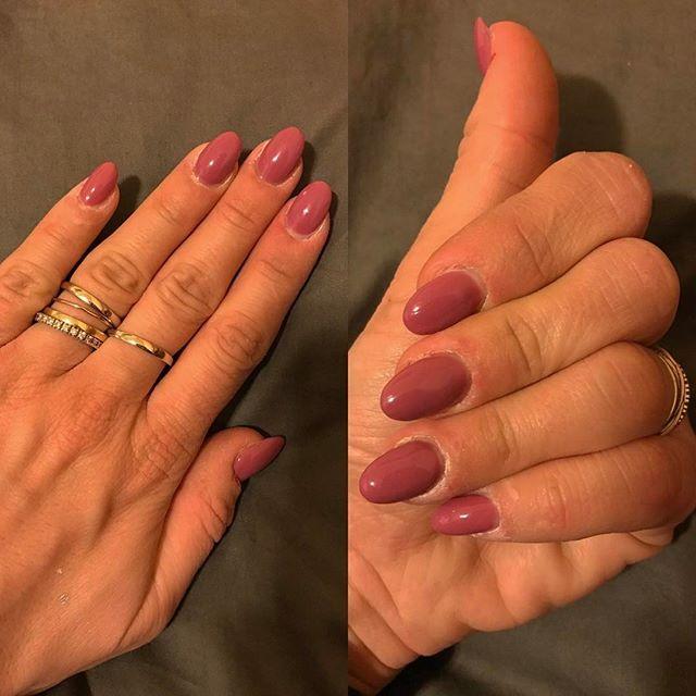 Rosa Antico  #ricostruzione #rimini #nails #artnails #unghie #unghierimini #geluv #pink #rosaantico #smalti #enailstore #
