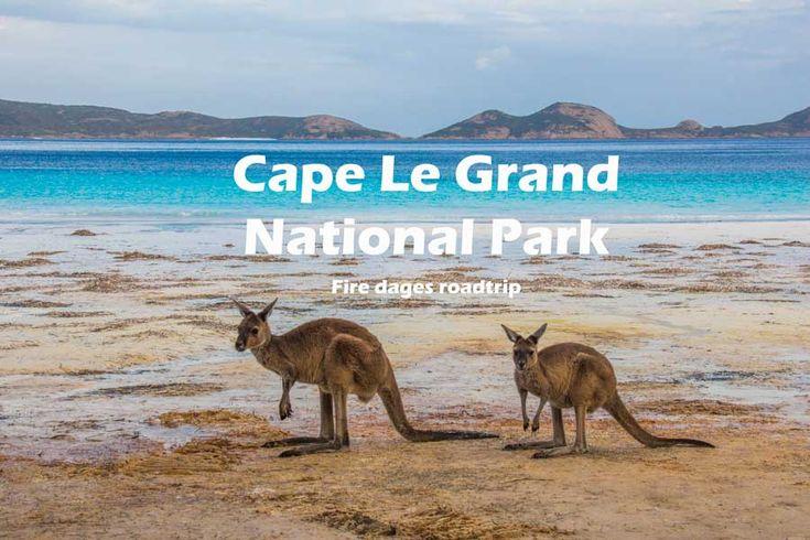 Cape Le Grand National Park er en af de smukkeste nationalparker i Australien. Læs om mine oplevelser og tips til dit besøg i Cape Le Grand National Park