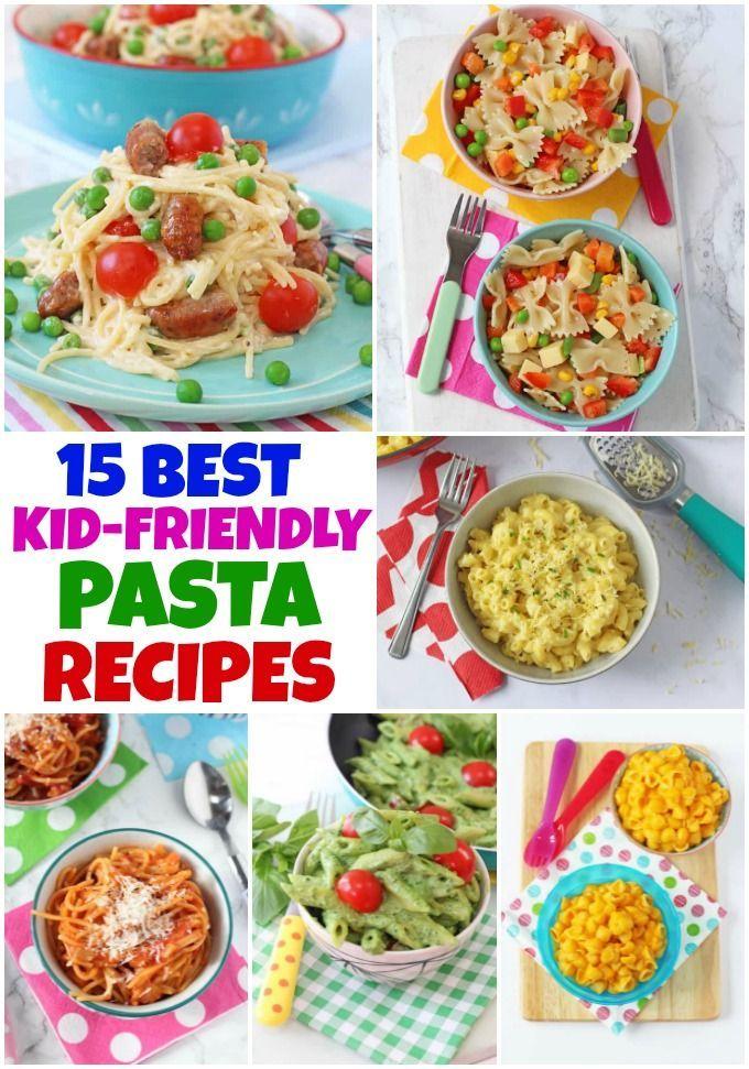 15 der besten kinderfreundlichen Pasta-Rezepte