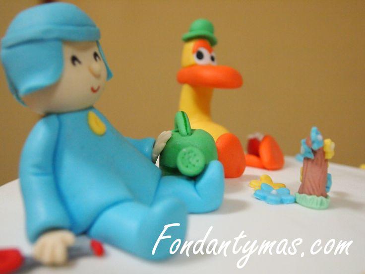 Pocoyo y Pato, y un paso a paso de cómo modelar a Pocoyo.