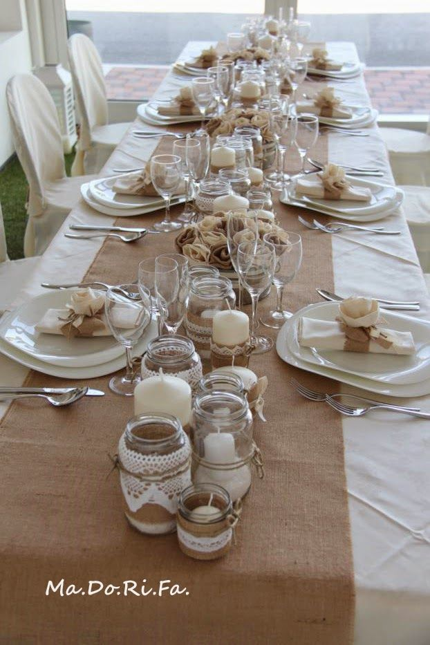 Ma.Do.Ri.Fà. bomboniere: Tableau de marriage rustico-shabby