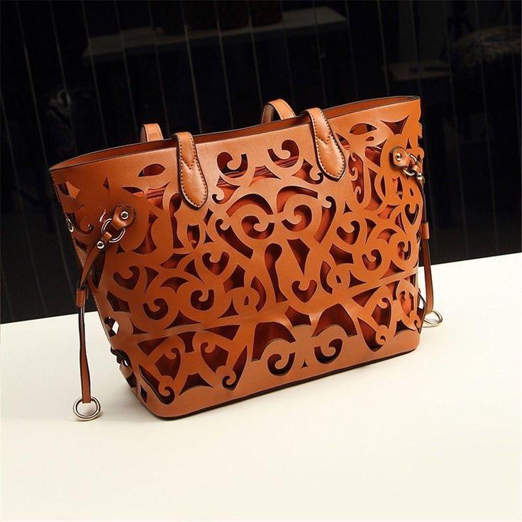Hot Hobo Fashion Women Large Leather Shoulder Messenger Bag Handbag Purse Tote #Unbranded #MessengerCrossBody