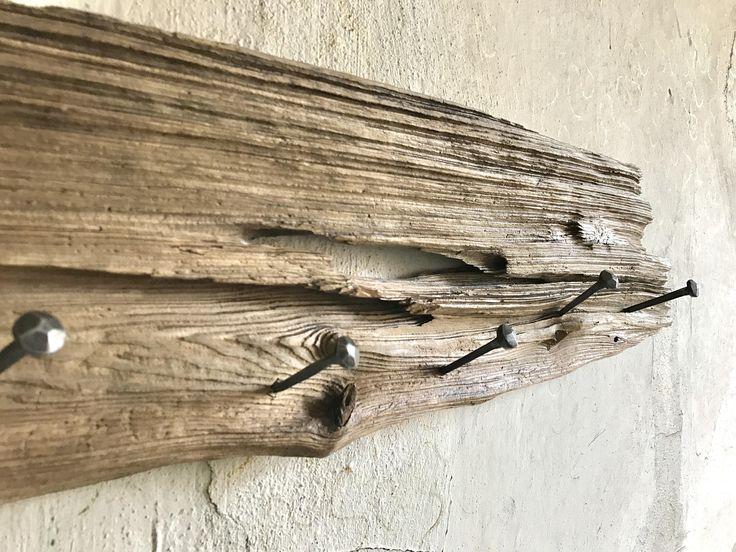 Perchero de madera Perchero Perchero madera tablero de