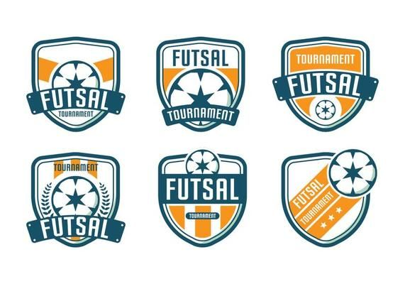 Futsal Logo Tournament Vector Logo Design Logo Logo Design