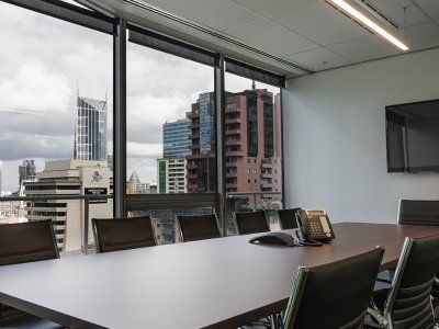 Not a bad boardroom view of Melbourne for Capella Capitol.