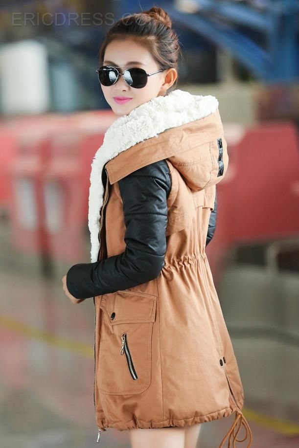 Fashion Rex Rabbit Fur Thicken Coat Coats