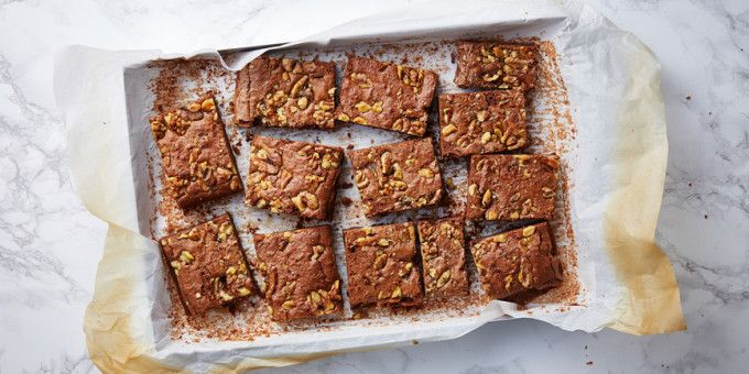 We shared this Flourless Chocolate Brownie with some herbal tea one celebratory afternoon among the IQS Team. We each only needed a little bit as this brownie is so fudgy and dense, a great treat for when you're in need of something chocolatey. – I Quit Sugar