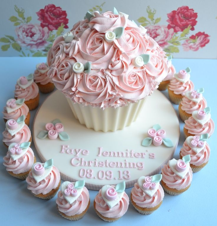 Gallery of giant cupcakes | Giant Cupcake Gallery - Little Paper Cakes