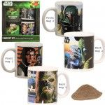 Star Wars 2 Mug Gift Set with Hot Cocoa Mix - $4.50 from Walmart