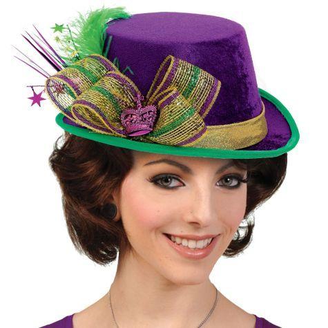 Deluxe Mardi Gras Top Hat - Party City