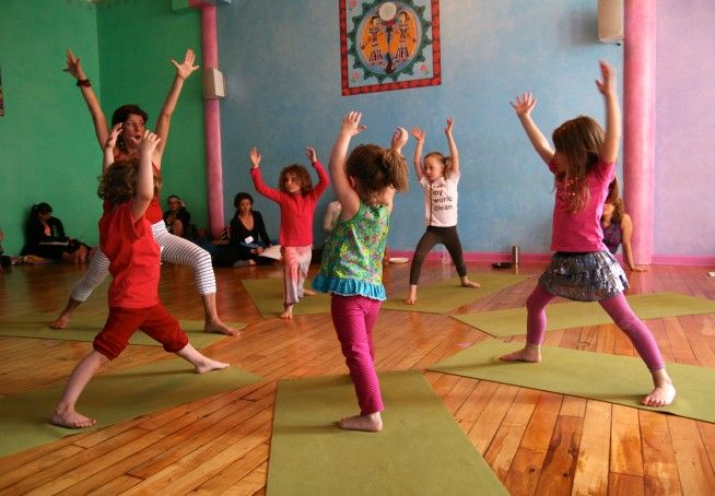 Top 10 Benefits of Yoga for Children. My little yogini started at just eight weeks.