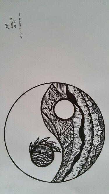 Ying Yang Inspired