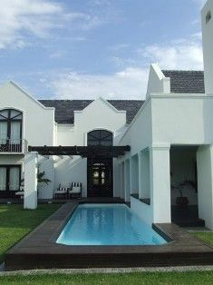 Modern Cape Dutch - source: Beverly Hui Architects.  Love it.  Clean lines