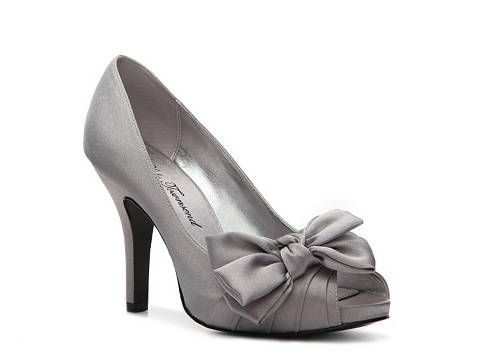 silver shoes!!! Love them!