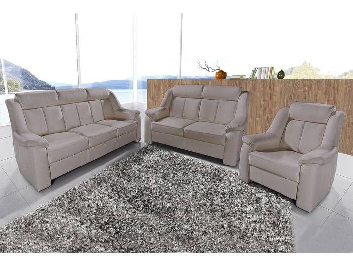 Sit More Polstergarnitur Grau Microfaser Hoher Sitzkomfort Fsc Ze In 2020 Furniture Outdoor Sofa Couch