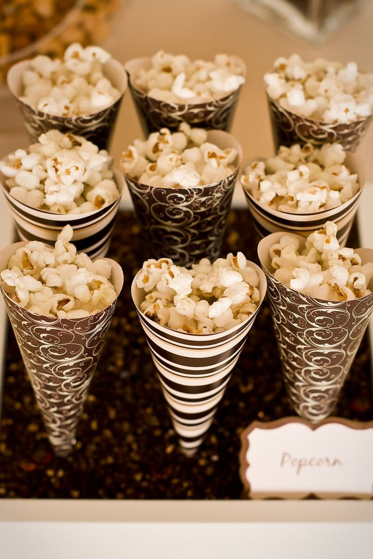 Maybe something a bit more manly and sophisticated for popcorn holders.