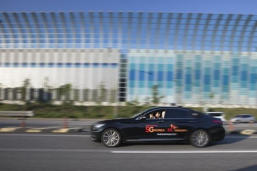 SK Telecom tests self-driving automobile on highway=