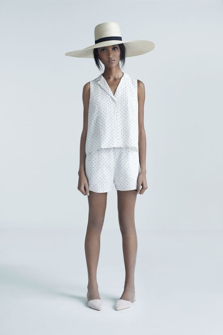 Carrie Shirt and Pigeon Shorts | Samuji Pre-Fall 2014 Collection