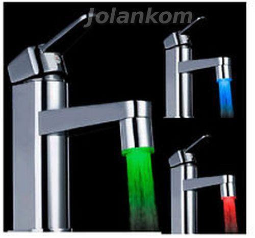 Perlator - nakładka na kran kolorowa woda