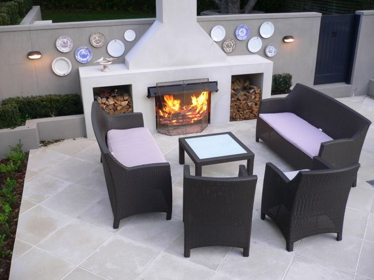 26 best outdoor rooms images on pinterest outdoor rooms for Outdoor rooms with fireplaces