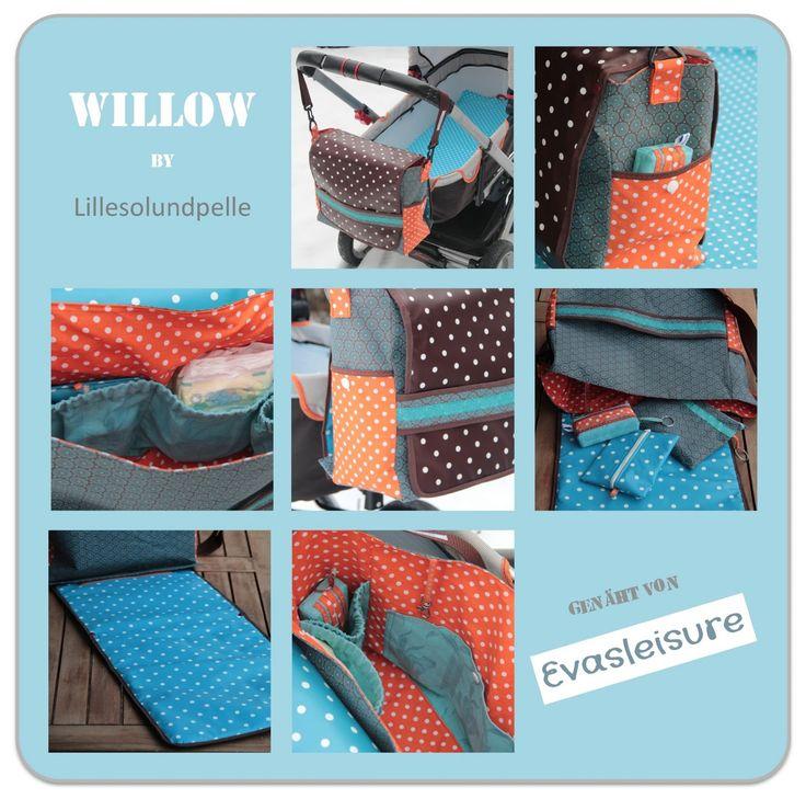 Wickeltasche Willow - Diaper bag Willow