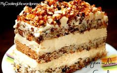 Retete Culinare - Prajitura cu nuci caramelizate