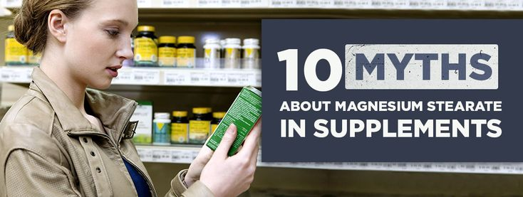 Why Say NO to Magnesium Stearate in Supplements