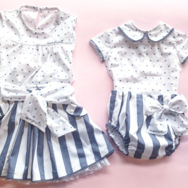 Terminado!!! Adiós telita de estrellas bonitas. #primerapuesta #niña #falda #starsfabric #madewithlove  #kids #girls #skirt #newborn #grey #iresingrapasmini