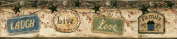 Download Live Laugh Love Wallpaper Border Gallery