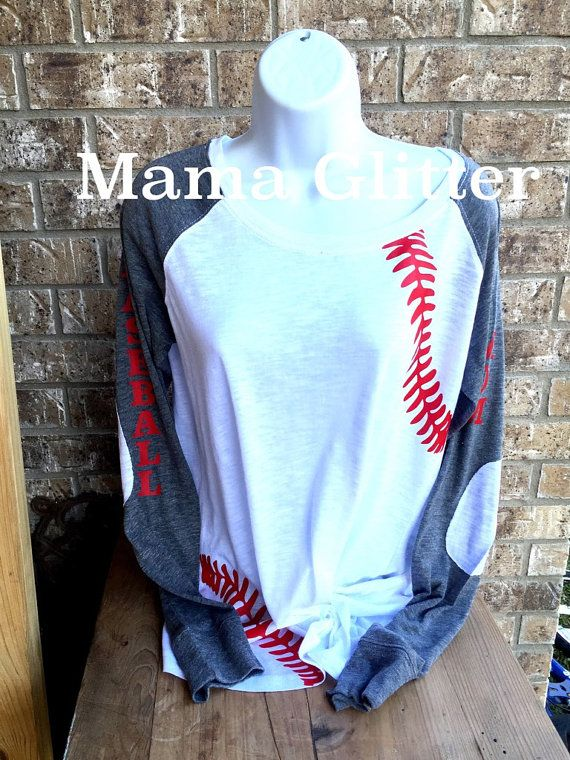 Hey, I found this really awesome Etsy listing at https://www.etsy.com/listing/267735925/baseball-laces-t-shirt-baseball-mom