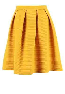 Vêtements mint&berry Jupe trapèze - inca gold moutarde: 40,00 € chez Zalando…