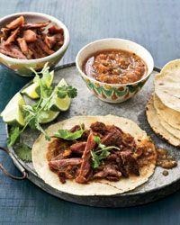 Duck Confit Tacos // More Great Taco Recipes: http://fandw.me/Wf7 #foodandwine