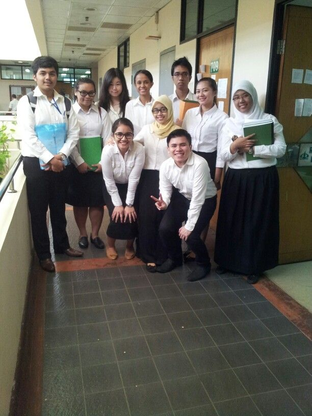 #Day1 #3Feb2014 First team to Sidang Skripsi 08.00 WIB.. Thank God we did it.. Hopefully next exam we all pass it too
