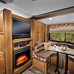 2017 Coachmen Leprechaun 240FS only 27' packed with features, walk in closet, fireplace, walk aroudn Queen bed, pre wired for solar