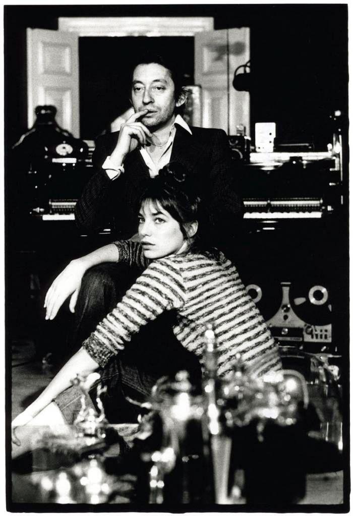 everyday_i_show: Couples We Love. Serge Gainsbourg and Jane Birkin.