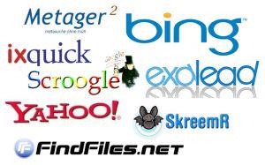 Auflistung zu Google Alternativen -Alternative Suchmaschinen ohne Datenspeicherung!