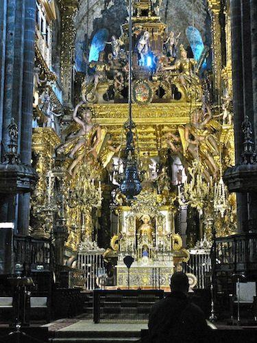 Grand Cathedral at Santiago at the end of El Camino