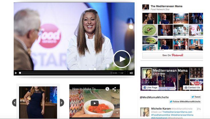 Michelle Karam www.TheMediterraneanMama.com @FoodNetwork #FoodNetworkStar
