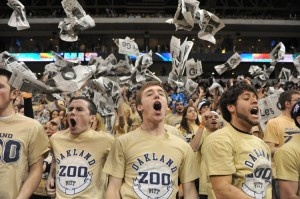 Students in The Zoo make the Petersen Events Center one of the hardest places to play in the nation