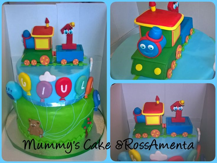 Cake train & Ballons